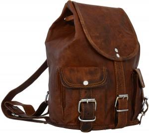 2d17b97cc5 Si vous envisagez d'acheter un sac à dos cuir spécial femme vintage, nul  doute que « Lena » de la marque Gusti Leder nature est faite pour vous.