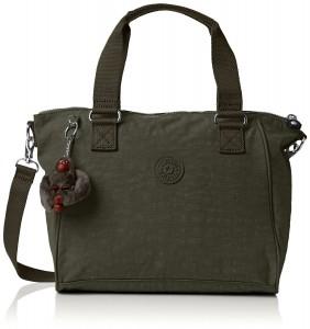 0d16c49a98 Kipling propose cette fois un sac en bandoulière grand format de couleur  vert. Pouvant être porté à la main ou sur l'épaule, ce sac fera office d'un  très ...